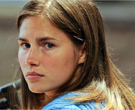 amanda knox image 460x373 Amanda Knox Verdict: Not Guilty, Murder Conviction Overturned!