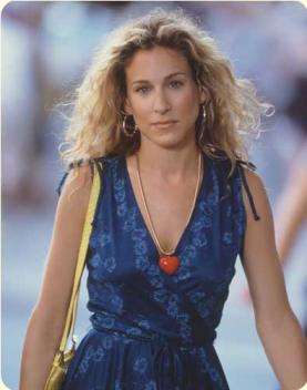 As Carrie Bradshaw