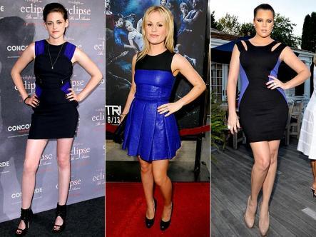 Платья голливудских звезд фото.