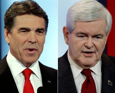 Perry and Gingrich