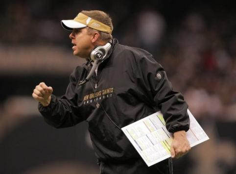 sean payton 482x355 Sean Payton, New Orleans Saints Head Coach, Suspended One Year for Bounty Gate