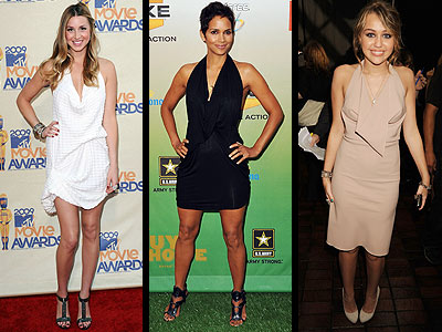 pictures of halle berry dresses. Whit-Halle-Miley