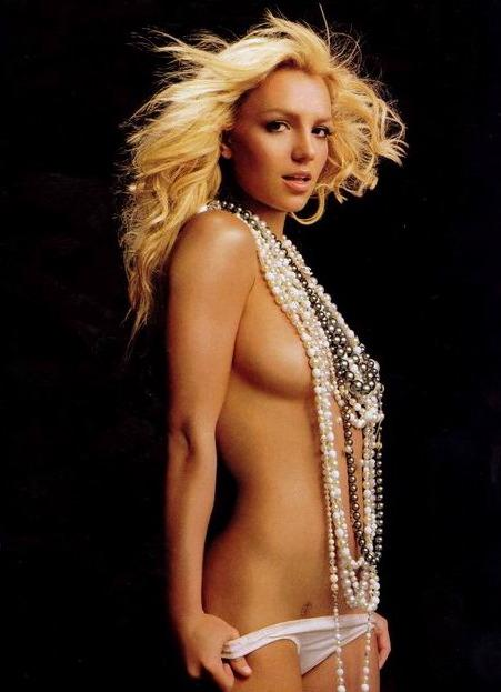 A nude Britney Spears. Like 2002 style, too, when she was the hottest thing ...