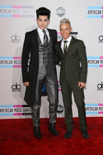 Adam Lambert and Sauli Koskinen Photo