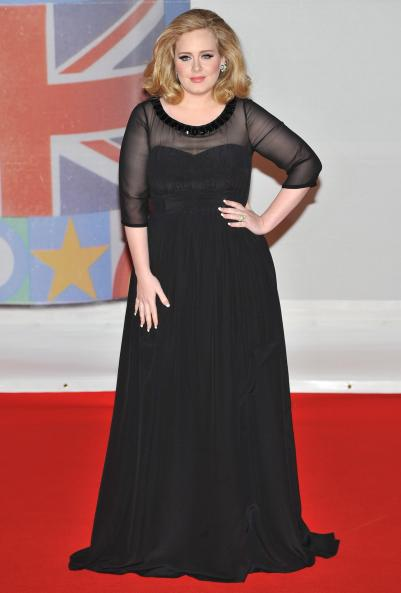 Adele at BRIT Awards