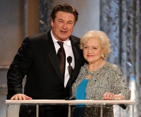 Alec Baldwin and Betty White