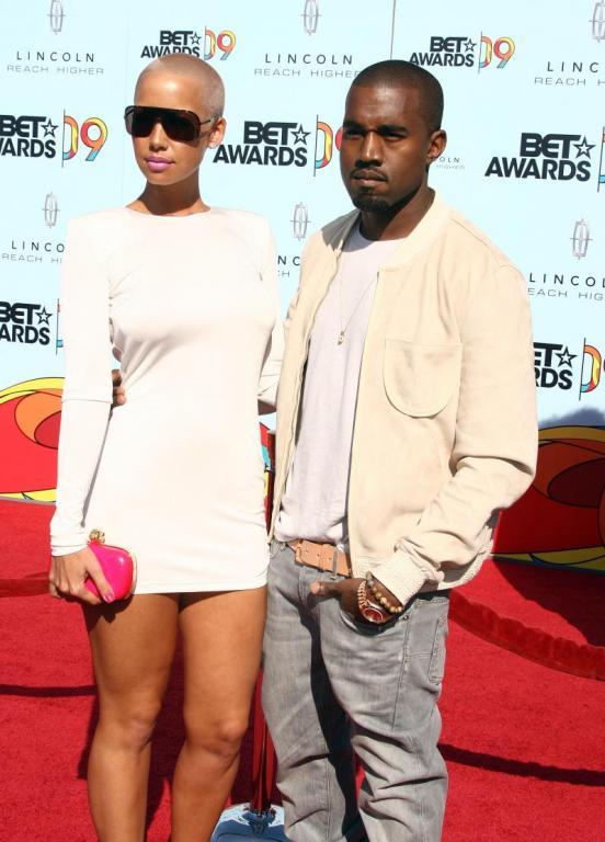 amber rose kanye. Amber Rose and Kanye Pic