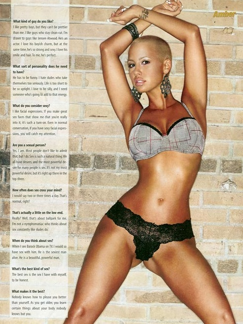 amber rose with hair pictures. Amber Rose Image
