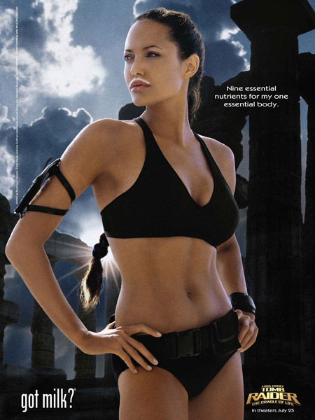 angelina jolie tomb raider pictures. her Tomb Raider days.