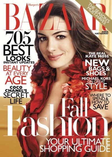 Anne Hathaway Harper's Bazaar