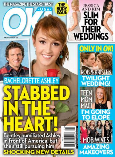 Bachelorette Stabbed in the Heart! Before appearing on The Bachelorette, ...