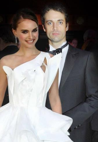 Benjamin Millepied and Natalie Portman. The future Mr. & Mrs. Benjamin