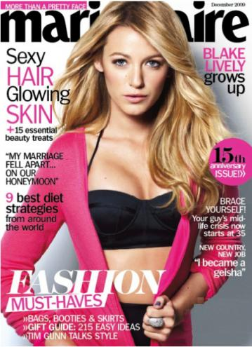 blake lively family. Blake Lively: Marie Claire