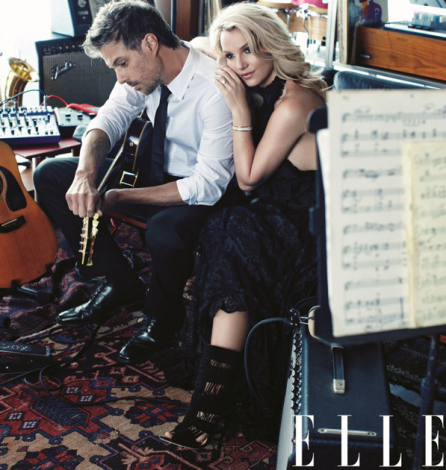Britney Spears and Jason Trawick in Elle