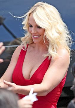 Britney Spears Turns Heads at X Factor Auditions » Gossip
