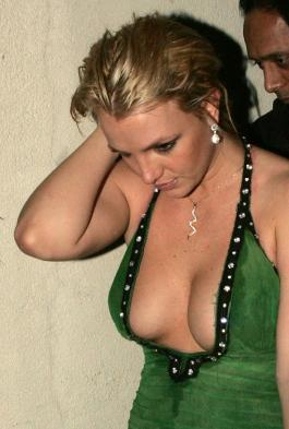 Britney Spears Cleavage