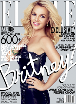 Britney Spears Elle Magazine Cover