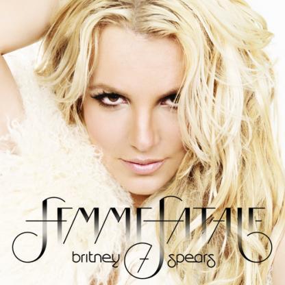 Britney Spears: Femme Fatale Album Cover