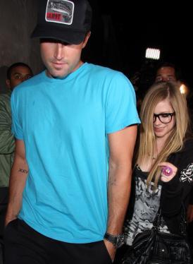 Brody Jenner, Avril Lavigne, Tattoo