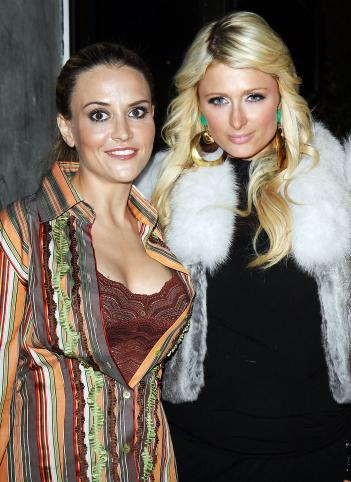 Brooke Mueller and Paris Hilton