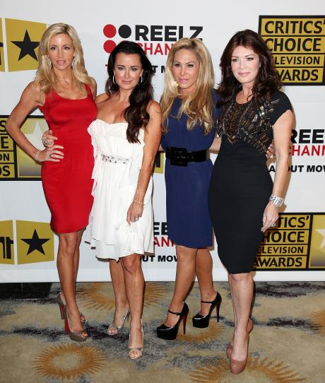 Celeb GOSSIP » The Real Housewives of Beverly Hills Gang Up on Kelsey Grammer
