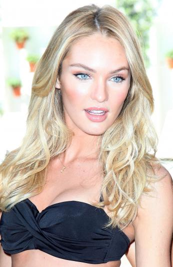 Candice Swanepoel Image. At the poolside event on Wednesday, the 22-year old ...