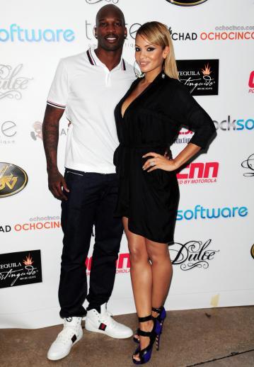 Chad Ochocinco and Evelyn Lozada