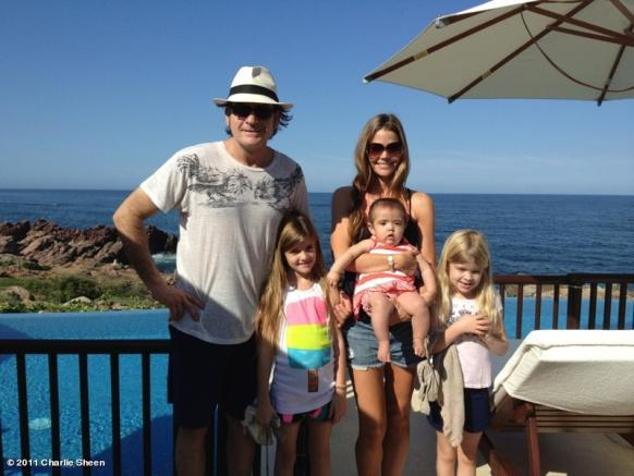 Charlie Sheen, Denise Richards and Kids. Tweet