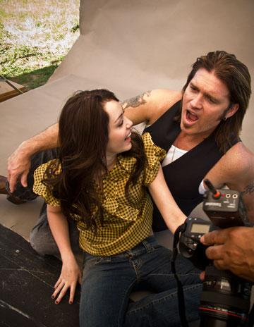 miley cyrus pictures with dad. Miley Cyrus and Billy Ray
