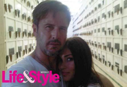 David Arquette and Jasmine Waltz The actor showed back up two nights later