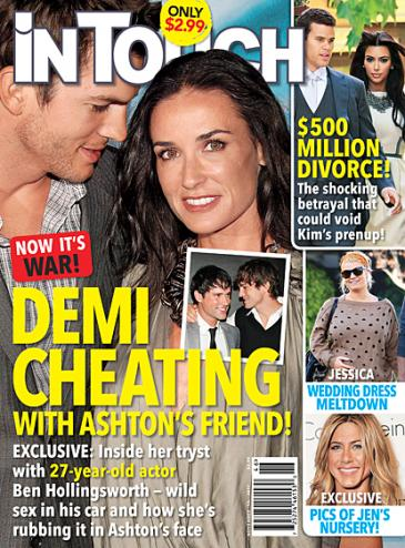 demi moore affair story 365x494 Did Demi Moore Cheat on Ashton Kutcher with Ben Hollingsworth?!?