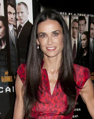 Demi Moore at Margin Call Premiere
