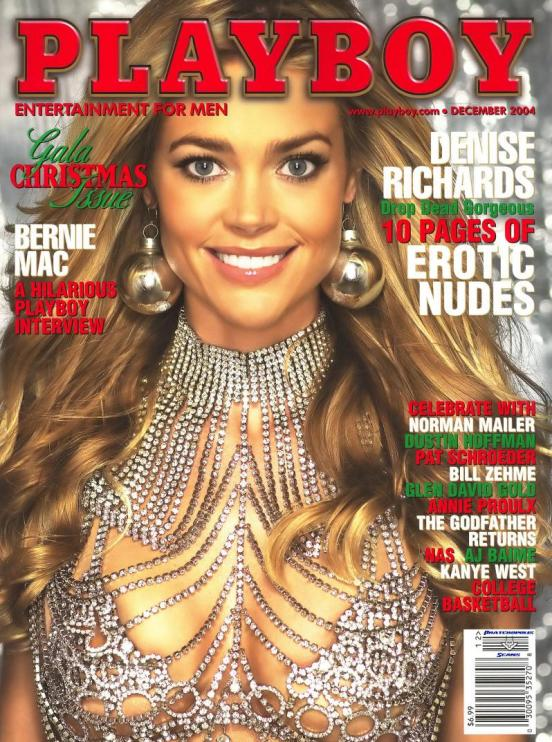 denise richards playboy