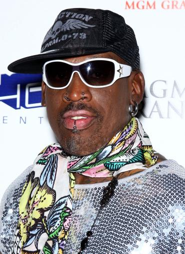 dennis rodman photograph 370x507 Dennis Rodman: Broke, Facing Jail Stint Over Failed Child Support