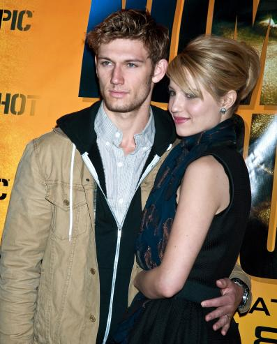dianna agron alex pettyfer photo shoot. Dianna Agron and Alex Pettyfer