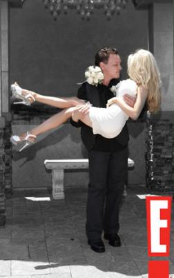 Doug Hutchinson and Courtney Stodden Wedding Photo