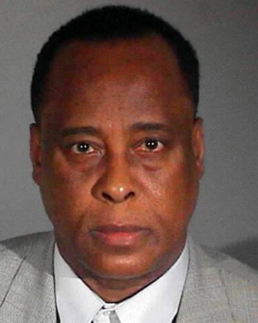 Dr. Conrad Murray Mug Shot