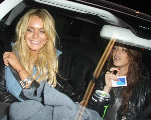 lindsay lohan new girlfriend is eilat anschel
