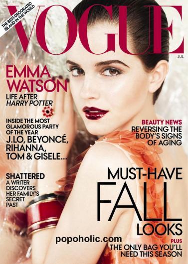 emma watson vogue. Emma Watson Vogue Cover