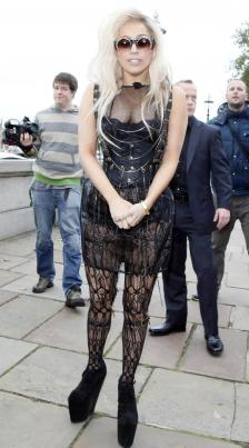 Gaga in London