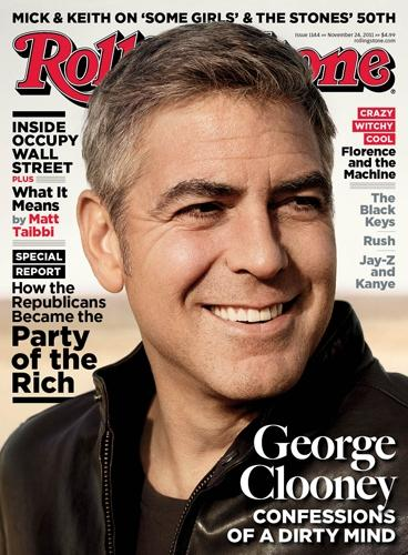 George Clooney Rolling Stone Cover