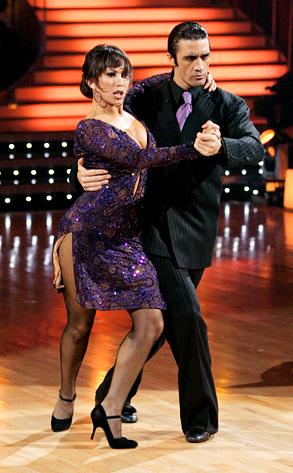 Gilles Marini and Cheryl Burke Tango. While Melissa Rycroft and Tony ...