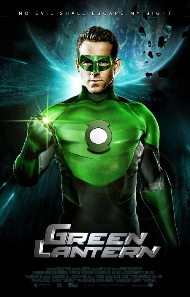 """""""Green Universe"""" Shikari Rod Green-lantern-poster"""