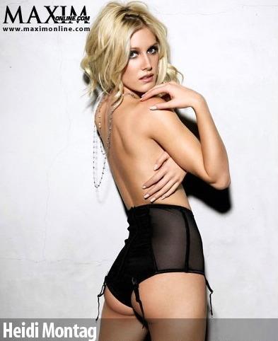 heidi montag. Half Nude Heidi Montag - The