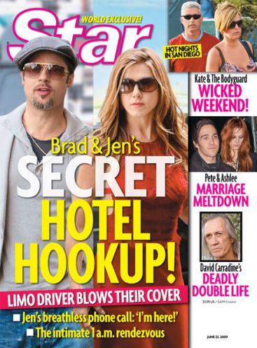 hilarious pics. Hilarious Jen and Brad Cover