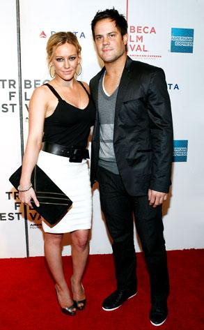 Hilary Duff and Mike Comrie Picture