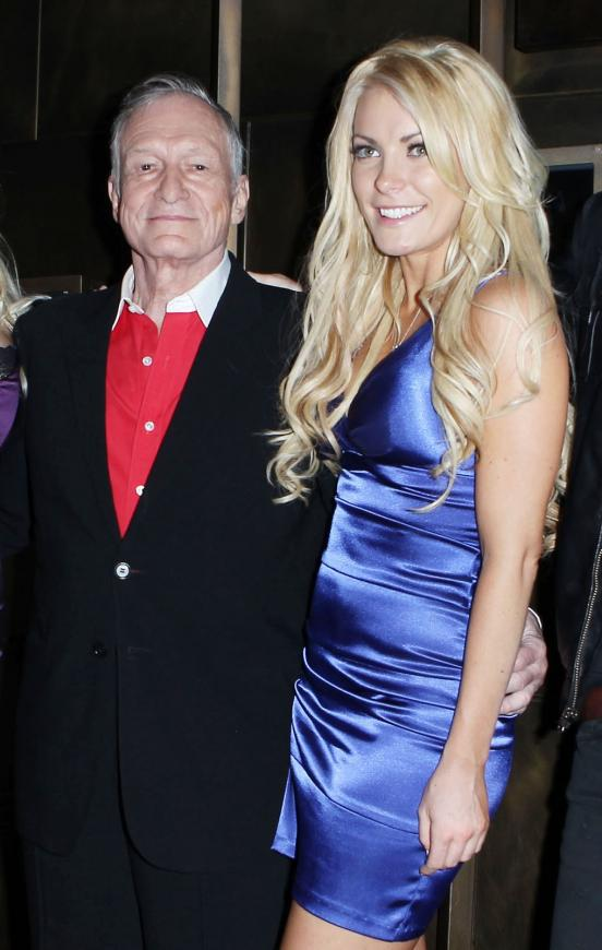 crystal harris hugh hefner. Hugh Hefner and Crystal Harris