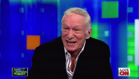 Hugh Hefner on Piers Morgan Tonight