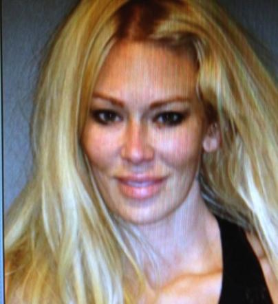 jenna jameson mug shot 404x442 Jenna Jameson Arrested for DUI, Recovering from Accident