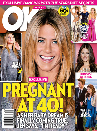 jennifer aniston pregnant